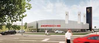 Porsche errichtet modernstes Porsche-Zentrum in Berlin.