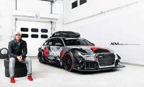 Erst geklaut, dann abgefackelt. Der Audi RS& DTM von Jon Olson