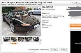 Angebot für einen Z8 Alpina