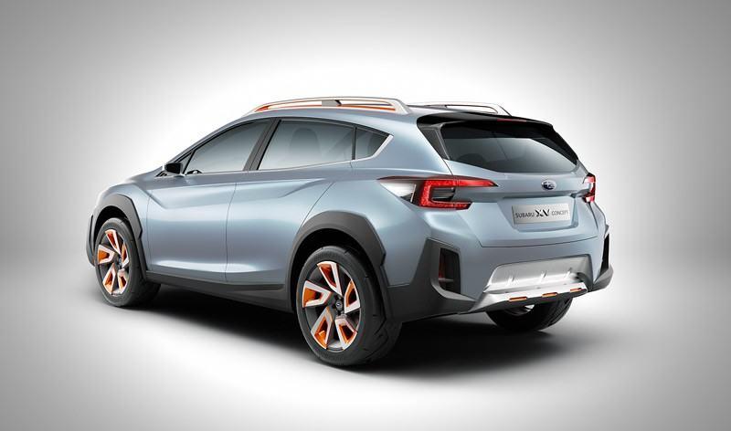 Subaru XV Concept Heck