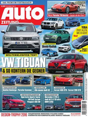 Autozeitung testet das Design der Automarken