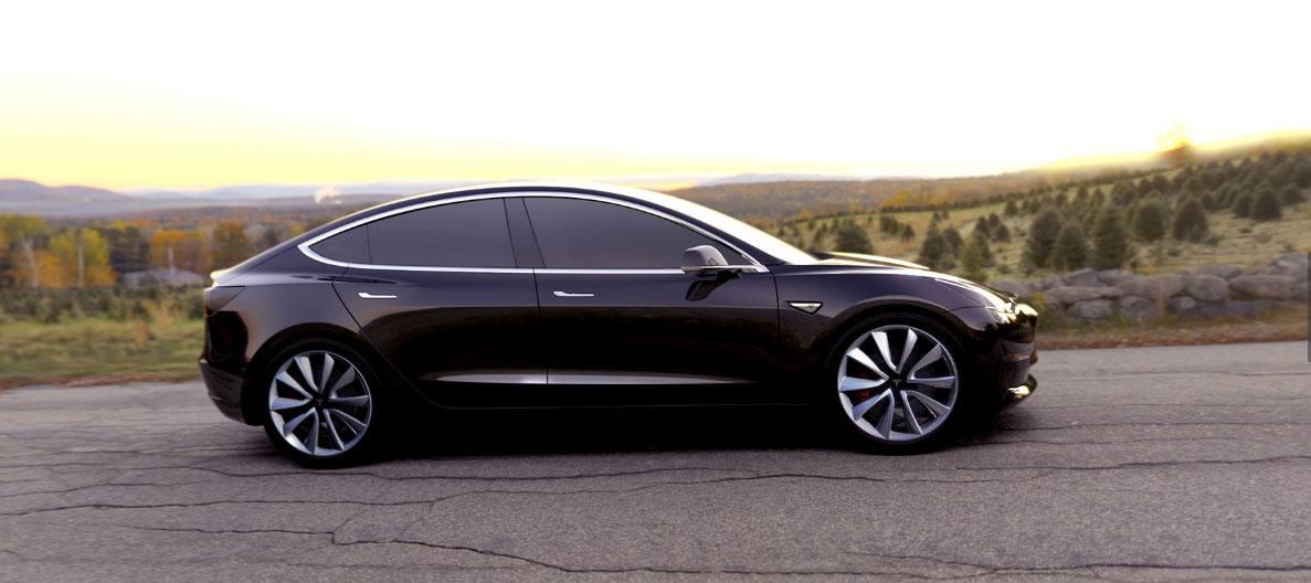 Der Tesla 3 ist vorbestellbar