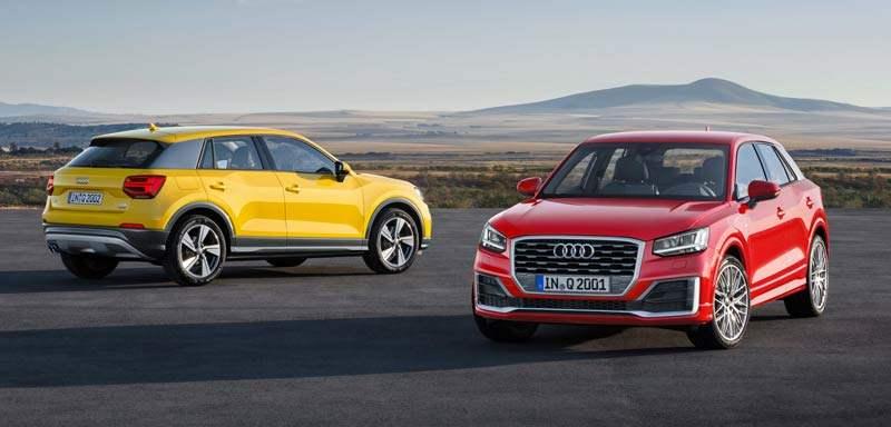 Audi mit robustem Quartal unterwegs