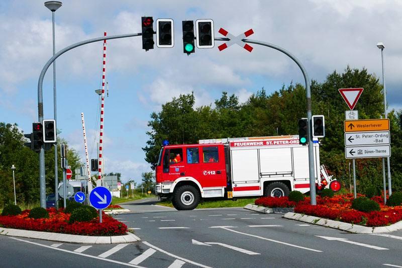 Feuerwehreinsatz.