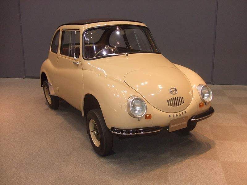 Historischer Subaru wird ausgezeichnet