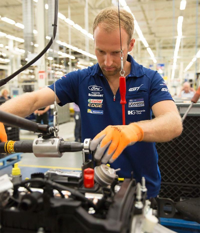 Ford Köln Motorjubiläum
