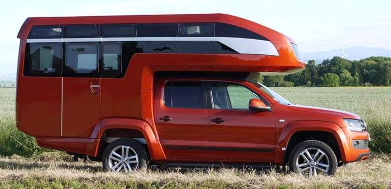 Wohnkabine für VW Amarok