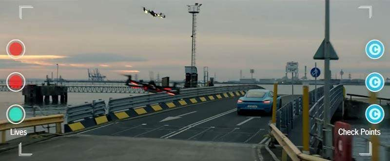 Porsche Cayman Werbevideo