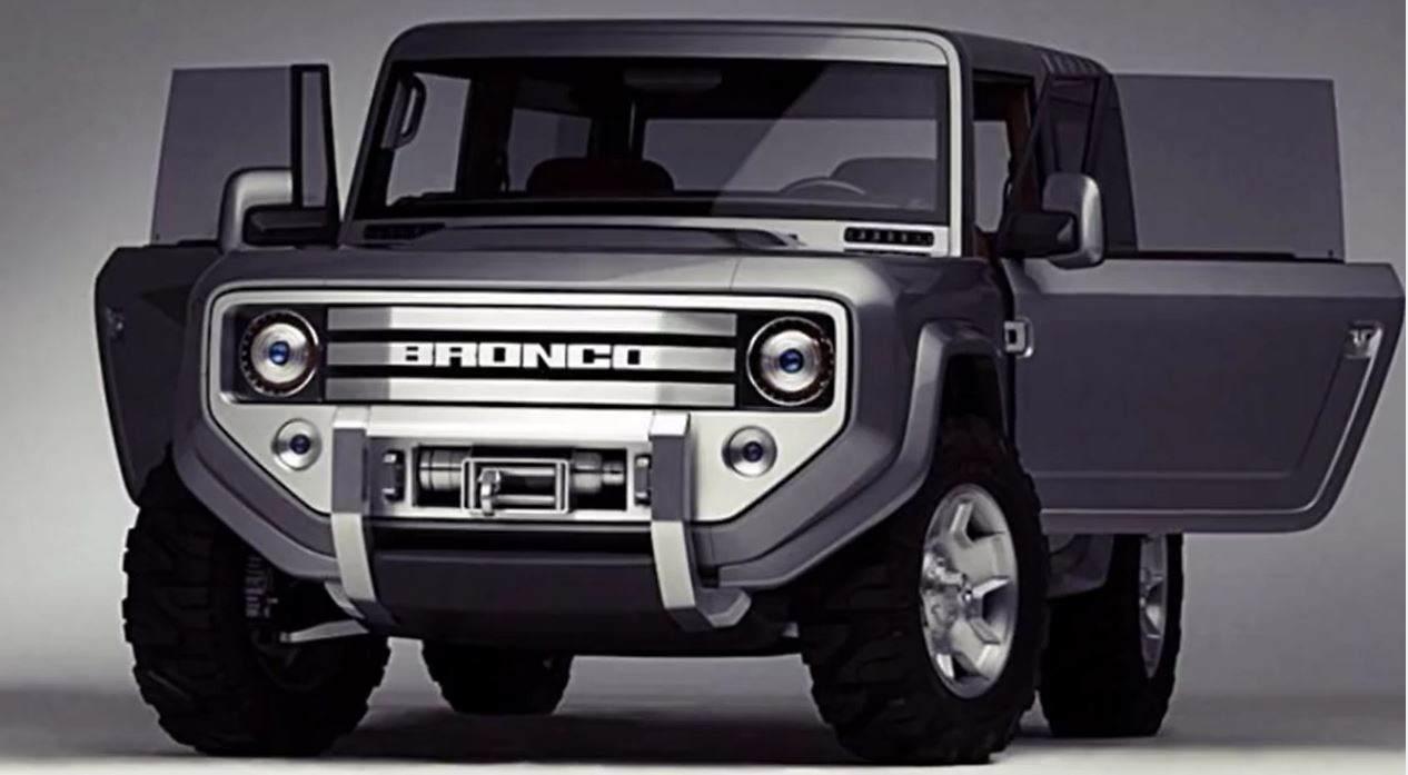 Wir der neue Ford Broco so aussehen?